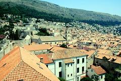 Dubrovnik Rooftops (wallatrope) Tags: vintage rooftops retro dubrovnik europe08