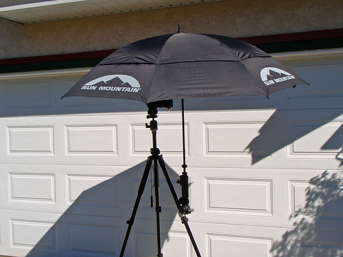 Tripod umbrella mount