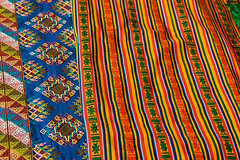 Bhutanese weaving (wycombiensian) Tags: newmexico santafe folkart market international