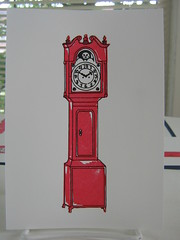 'Gocco grandfather clock' Nydam on Flickr
