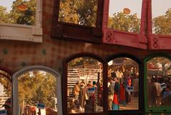 DSC_7388 Beneshwar Mela, Rajasthan, India. (Swiatoslaw Wojtkowiak) Tags: india rural canon mirror asia market crowd fair 5d indien rajasthan inde mela     beneshwar