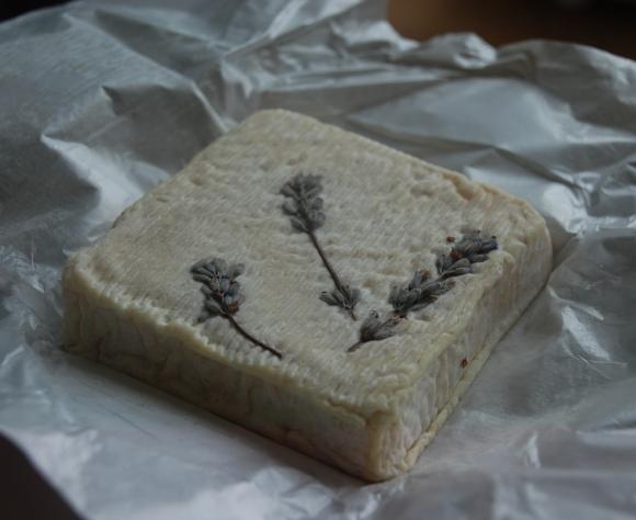 lavendar goat cheese