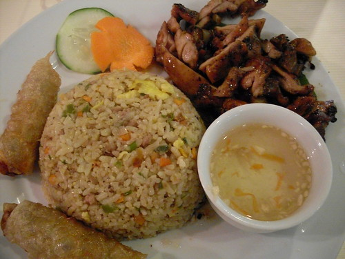Pho-hoa Rice plate