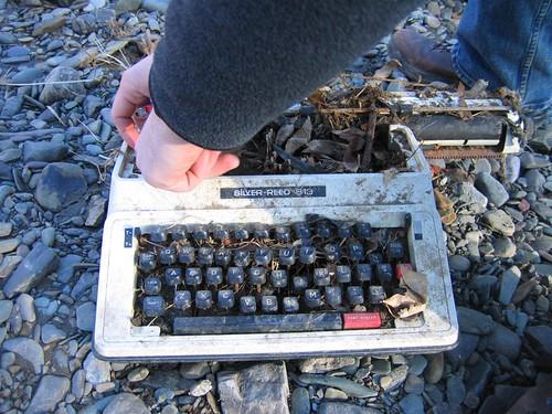 Typewriter durability test