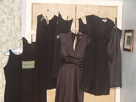 I own 9+ Little Black Dresses