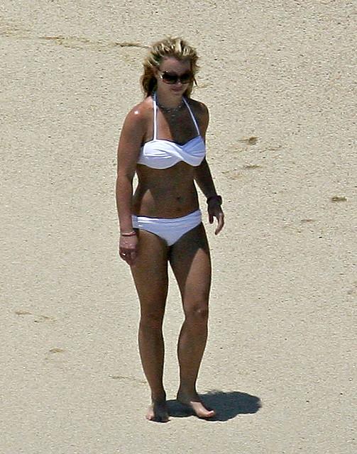 Britney Spears - white bikini