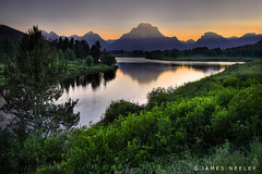 Ox Bow Evening (James Neeley) Tags: searchthebest wyoming grandtetons tetons hdr oxbow grandtetonnationalpark gtnp oxbowbend 5xp jamesneeley flickr6