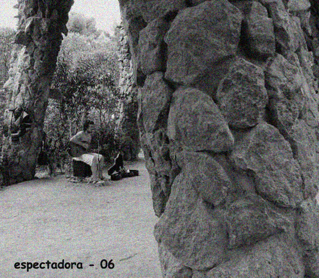 Parque Güell -músico-2