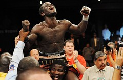 Josh Clottey happy that he just beat zab judah