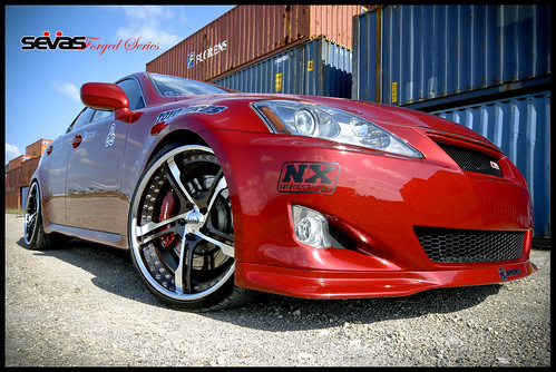 Lexus IS250 on Sevas Sevas Forged AP55 Wheels