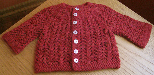 Feburary Baby Sweater
