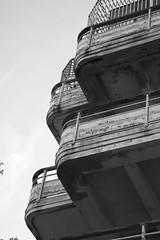 Goldwater Hospital (missiletest) Tags: nyc newyorkcity newyork digital canon hospital balcony peelingpaint rooseveltisland 30d 2485mm canon30d