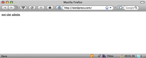 Wordpress.com - Error
