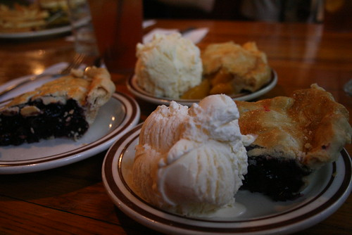 Blueberry Pie of Beckie's Restaurant @ Union Creek, OR