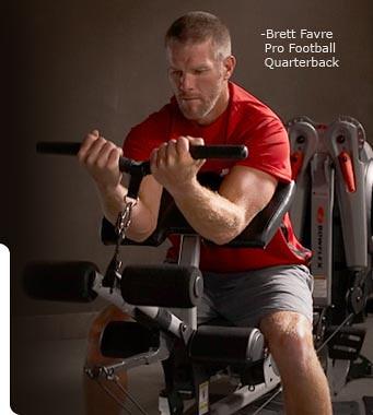 Brett Favre, bowflex