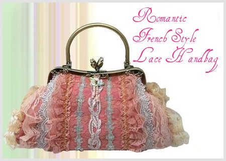 Romantic French Style Lace Handbag