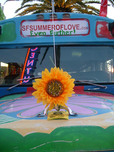 Hippie Bus from the Summer of Love