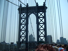 Manhattan Bridge (Dead End Girl) Tags: girl dead manhattanbridge end deadendgirl louiseholtmorris