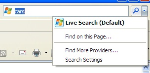 IE8 Search Box: Changing It To Google
