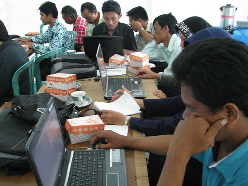 LAN and Internet Training at Sinjai