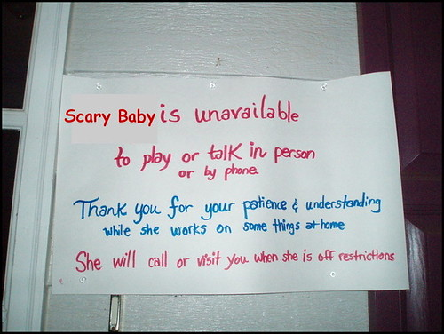 ScaryBabySign