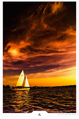 Cruising (Gert van Duinen) Tags: red orange lake holland yellow sailboat sailing digitalart cruising lakeside glorious cinematic 2008 landschaft cloudscape atmospheric friesland apocalyptic landschap sailer themoulinrouge eernewoude tokinaatx124 explored dutchartist nikond80 landschaftsaufnahme cresk gertvanduinen hoyapro squarecresk
