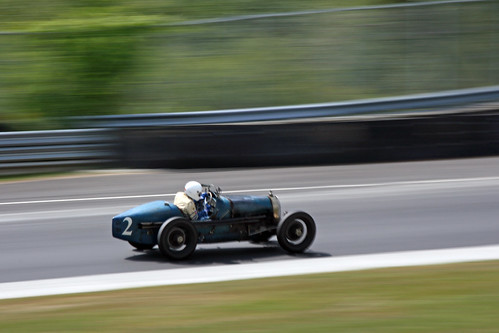 Bugatti T-37at the 2008 Lime Rock Historics