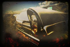 ttv lincoln (bob merco) Tags: auto classic cars texture abandoned car photoshop manipulated truck vintage visions holga rust classiccar experimental grunge dream surreal cruising manipulation automotive retro textures montage restored hotrod rod layers aged custom oldcars lowrider hdr carshow textured grungy carinterior ttv merco overtheexcellence removedfromadobelightroomfortags supermerc81 hourofthesoul bobmerco lonesomelizardfilms bobmercogliano