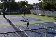 Match Point for Bob and Mary Jane (Michael Letour) Tags: virginia tennis va match 35 70 overhead mechanicsville usta matchpoint mixeddoubles putaway thirdset kingscharter tiebreak