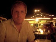 Jason eating on the veranda (Jason&Christy) Tags: jason club jamaica ambience