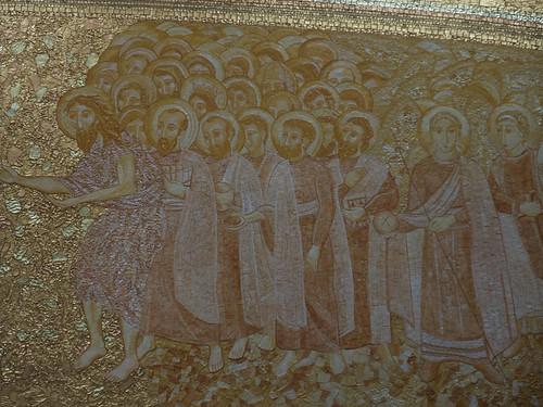 Pormenor da decoração da abside