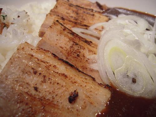 炙り豚カレー