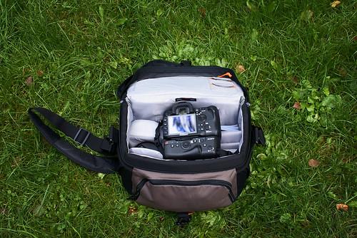 Camera bag content