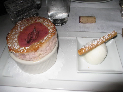 Xavier's at Piermont: Cherry Souffle