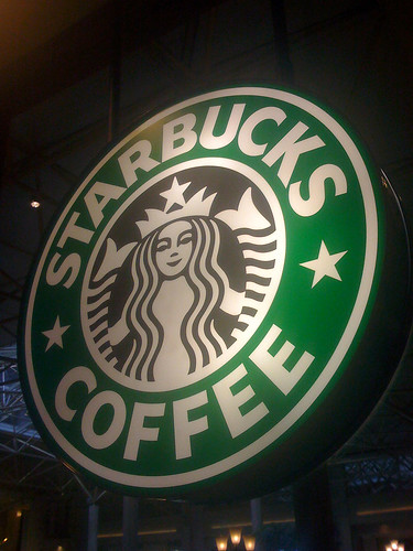 Starbucks Coffee at the Renaissance Hotel in Washington DC - Taken With An iPhone