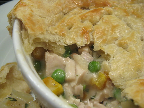 fennel & chicken pot pie