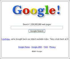 Google 2001 is really cool!