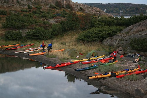 Outdoor Academy of Sweden - camp and kayaking