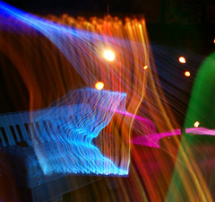 Dreaming Accordion (binaryCoco) Tags: light lightpainting painting licht accordion led musik synesthesia lichtmalerei malerei akkordeon synaesthesia leuchtdiode synästhesie damniwishidtakenthat