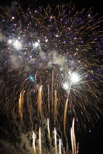 Tsuchiura fireworks contest