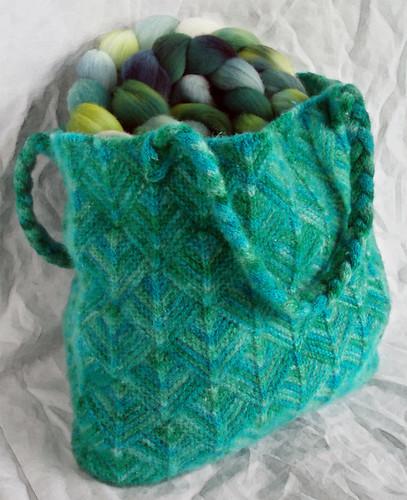 turkoosi-vihreä laukku 2