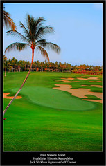 Jack Nicklaus Signature Golf Course Four Seasons Resort Hualalai at Historic Kaupulehu Kona District Big Island Hawaii (j glenn montano 3) Tags: golf jack island four hawaii big seasons district signature glenn historic resort course kona montano hualalai nicklaus kaupulehu justiniano colourartaward