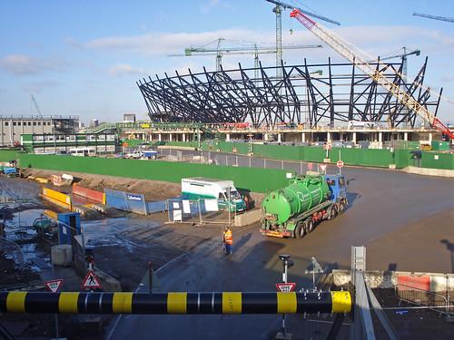 Estadio Olímpico  Londres 2012 Diciembre