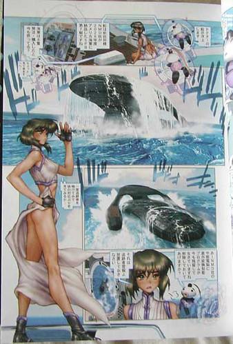 Ghost in the Shell hentai manga - Motoko sexy3