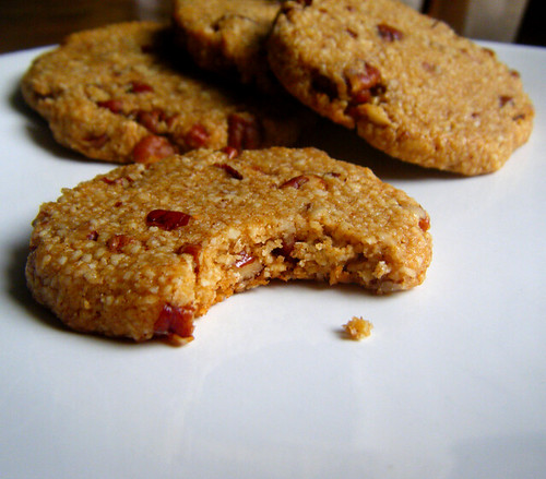 Chewy Honey Nut Cookies