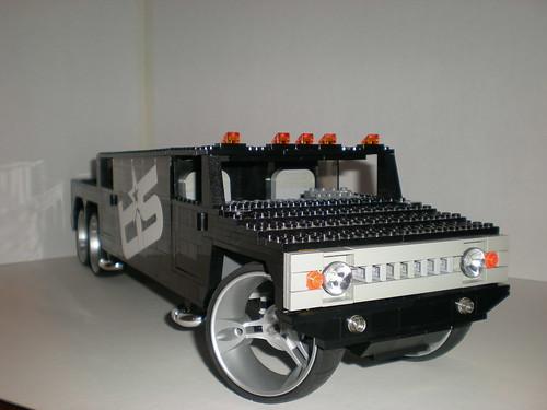 Hummer H2 Sut Slant Back. Lego Hummer H2 SUT Stretch