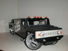 Lego Hummer H2 SUT Stretch Limo (rabidnovaracer) Tags: lego limo jacuzzi hottub suv hummer h2 dub tis sut
