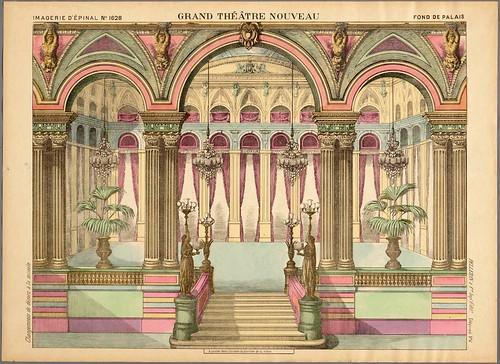 023- Fondo o telon de decorado palaciego