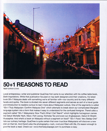 50+1 malaysia book review, klue