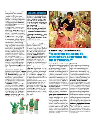 Entrevista en el Quèfem de La Vanguardia
